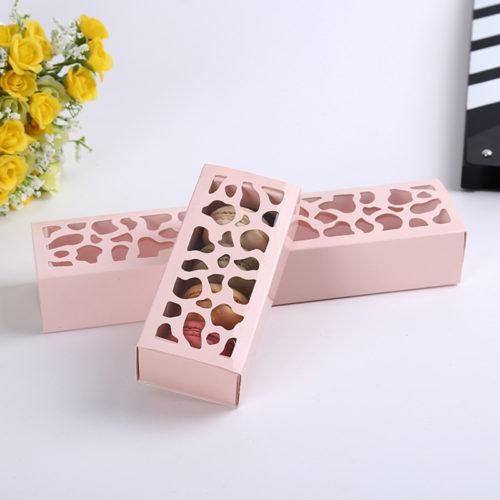 Бумажные коробки для печенья макарун 10 шт.
