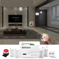 Fuers GSM система сигнализации и безопасности с датчиком движения и сиреной