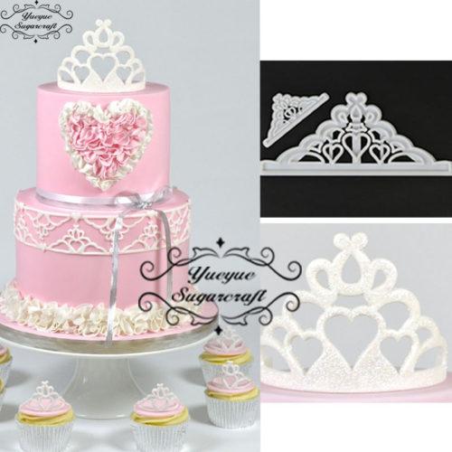 Набор пластиковых форм для украшения торта 2 шт.
