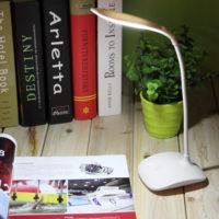 Светодиодный гибкий настольный USB светильник лампа 5500-6000 К с сенсорным выключателем 500 мАч