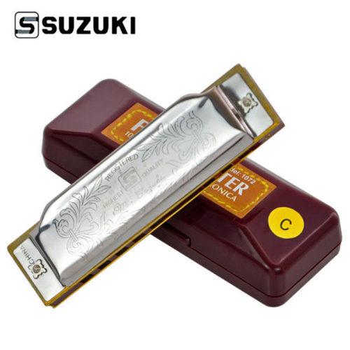 Suzuki Folkmaster 1072 губная гармошка в комплекте с чехлом