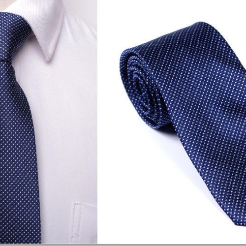 Мужской деловой галстук из полиэстера с узором 8 см