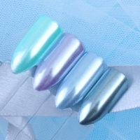 Жемчужная втирка глиттер для дизайна ногтей