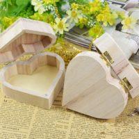 Деревянная заготовка шкатулка сердце для декупажа