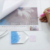 Алмазная мозаика вышивка картина стразами Лиса (полная выкладка, разные размеры)