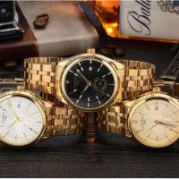 Наручные мужские золотые часы CHENXI