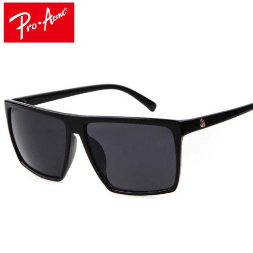 Мужские поляризованные солнцезащитные очки с зеркальными фотохромными антибликовыми линзами и прямым верхом