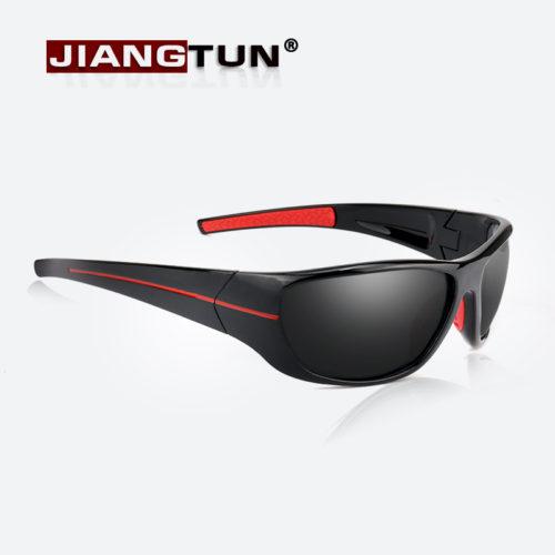 JIANGTUN Мужские солнцезащитные поляризованные очки с пластиковой оправой для вождения