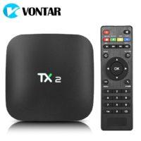 Беспроводной медиаплеер смарт тв-приставка к телевизору VONTAR X2 Android 6.0, Bluetooth