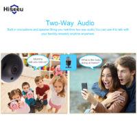Hiseeu беспроводная Wi-Fi Ip-камера 720 P с функцией ночного видения и поддержкой карт памяти