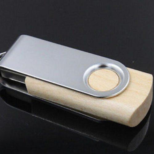 USB 2.0 флеш-накопитель деревянная флешка с логотипом (гравировкой) с коробочкой на заказ 4/8/16/32 ГБ