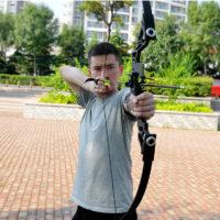 Профессиональный спортивный лук для стрельбы