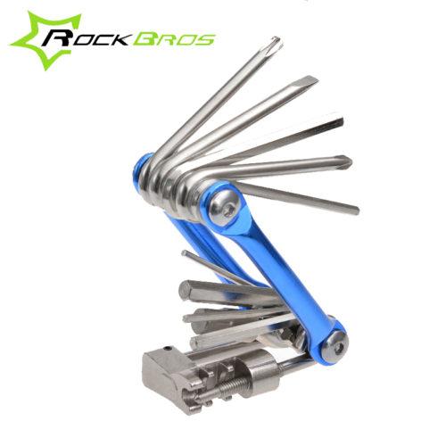 ROCKBROS мультитул набор многофункциональных инструментов для ремонта велосипеда