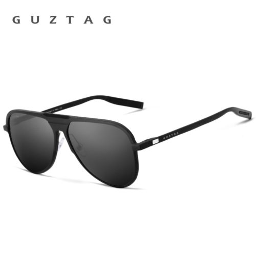 GUZTAG Мужские поляризованные солнцезащитные очки с зеркальными антибликовыми линзами