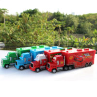 Машинки Молния Маккуин из мультфильма Тачки (грузовик + легковая)