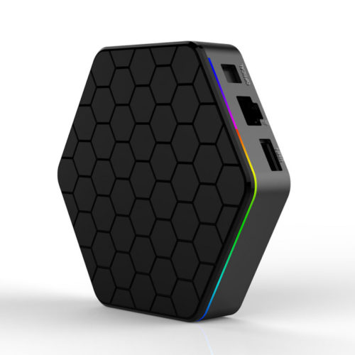 Беспроводной медиаплеер смарт тв-приставка к телевизору T95Z Plus Android 7.1 Bluetooth