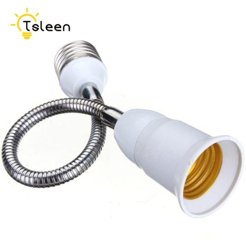 Гибкий удлинитель для лампочки E27
