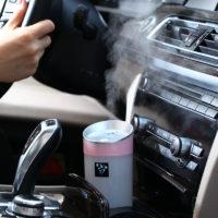 Портативный ультразвуковой мини USB увлажнитель воздуха диффузор 300 мл в автомобиль, офис