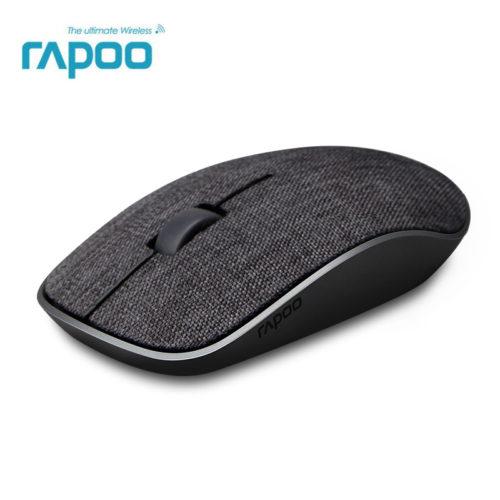Rapoo Компьютерная беспроводная игровая тканевая джинсовая мышка