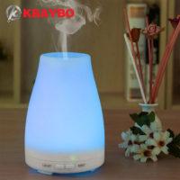 KBAYBO Ультразвуковой светодиодный бесшумный увлажнитель воздуха 120 мл арома диффузор для эфирных масел