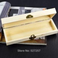 Деревянная заготовка прямоугольная шкатулка пенал для декупажа