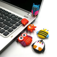 USB флеш-накопитель силиконовая флешка в виде животных 4/8/16/32/64 ГБ