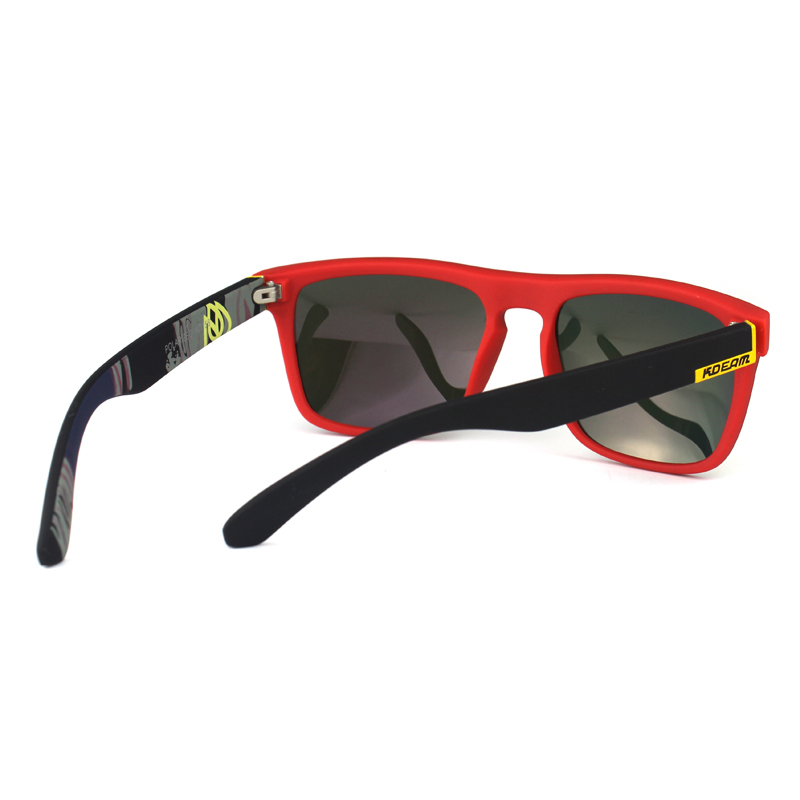 KDEAM Мужские классические солнцезащитные очки с оправой из ацетата и  зеркальными антибликовыми линзами d280075bbc6