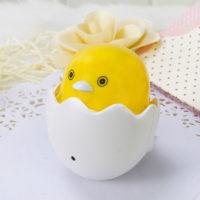 Светодиодный детский ночник в розетку Цыпленок в яйце