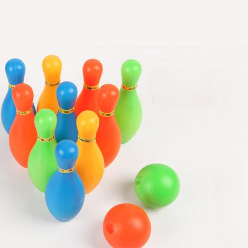 Детский пластиковый боулинг игрушка