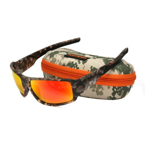 Мужские солнцезащитные поляризованные очки с пластиковой камуфляжной оправой для вождения или рыбалки