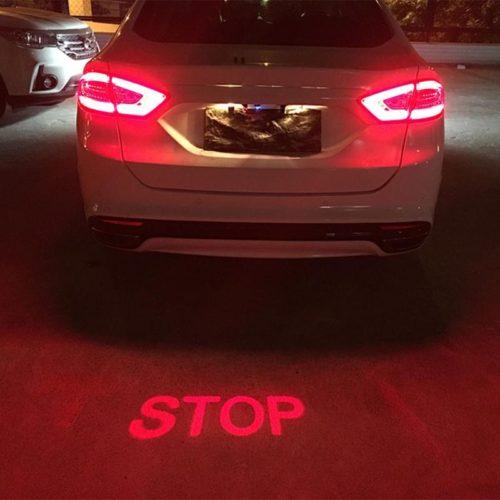 Лазерная проекция STOP для автомобиля