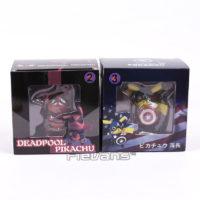 Фигурка Пикачу в костюме Дэдпула и Капитана Америки