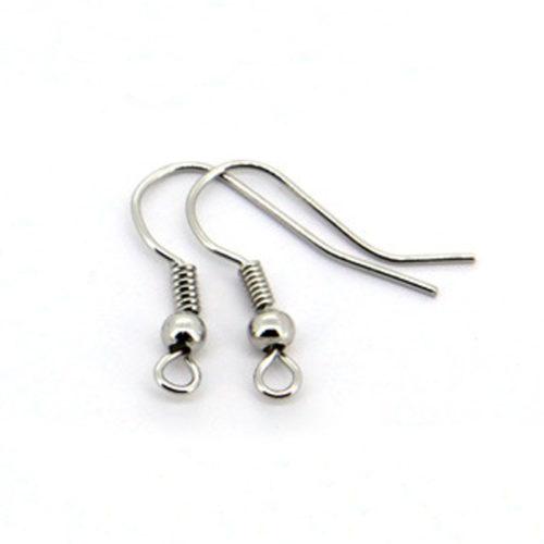 Швензы крючки для сережек 18 мм 100 шт.