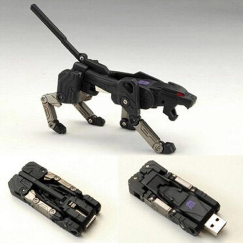 USB 3.0 флеш-накопитель флешка в виде трансформера пантеры 4/8/16/32/64/128/256/512 ГБ