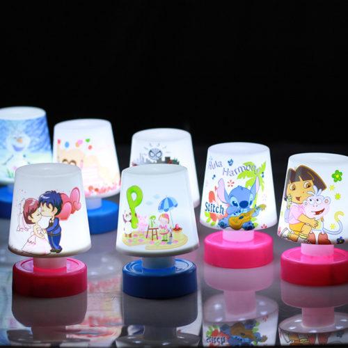 Светодиодный LED настольный ночник-лампа для мальчиков и девочек
