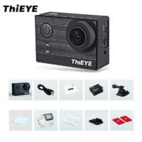 Спортивная водонепроницаемая экшн камера ThiEYE T5e WiFi 4K 170° 12MP с сенсорным экраном 2″