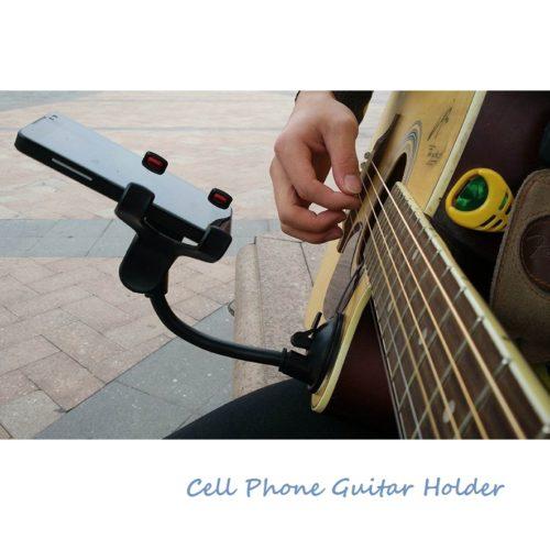 Держатель телефона для гитары на присоске