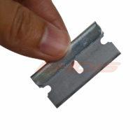 Скребок с набором лезвий для удаления клея и остатков тонировочной плёнки