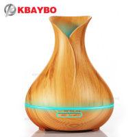 KBAYBO Ультразвуковой светодиодный бесшумный увлажнитель 400 мл арома диффузор для эфирных масел