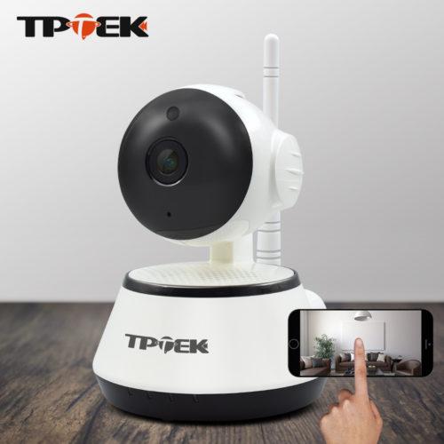 TPTEK беспроводная Wi-Fi Ip-камера видеонаблюдения 720 P с функцией ночного видения и с датчиком движения