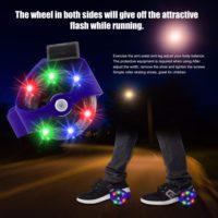 Светящиеся мини ролики на пятку Flashing roller