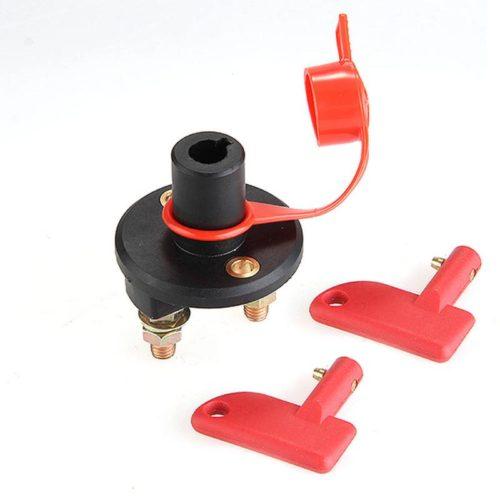 Выключатель массы аккумуляторной батареи + ключ + водонепроницаемая крышка