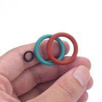 Масло-бензо стойкие кольца разного диаметра 170 шт.