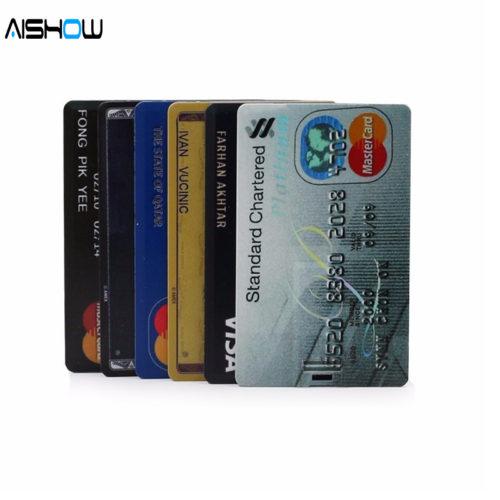 USB 2.0 флеш-накопитель флешка в форме кредитной карты 4/8/16/32 ГБ