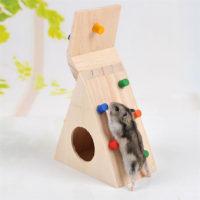 Деревянный домик для хомяка, грызунов