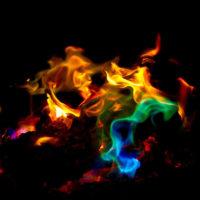 Mystical Fire краска для цветного огня костра