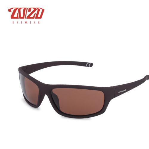 Мужские солнцезащитные поляризованные очки с пластиковой оправой для вождения