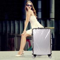 Водонепроницаемый прозрачный чехол на чемодан (разные размеры)