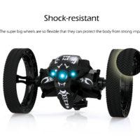 Прыгающий робот RC машинка с большими колесами peg RH803