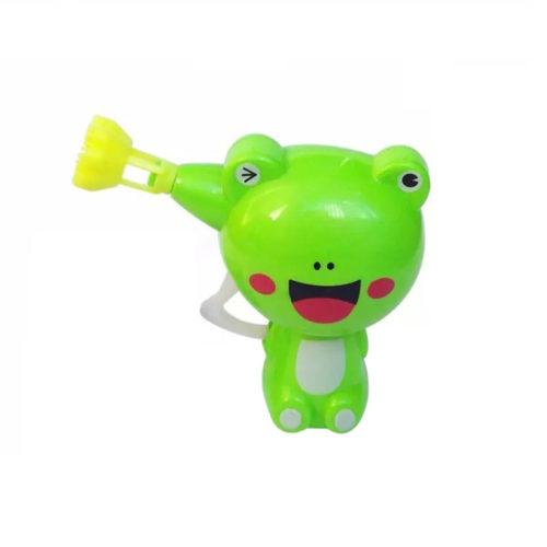 Детский пистолет для мыльных пузырей в виде животных